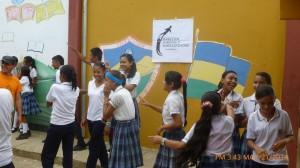 Taller en un colegio, Caribe